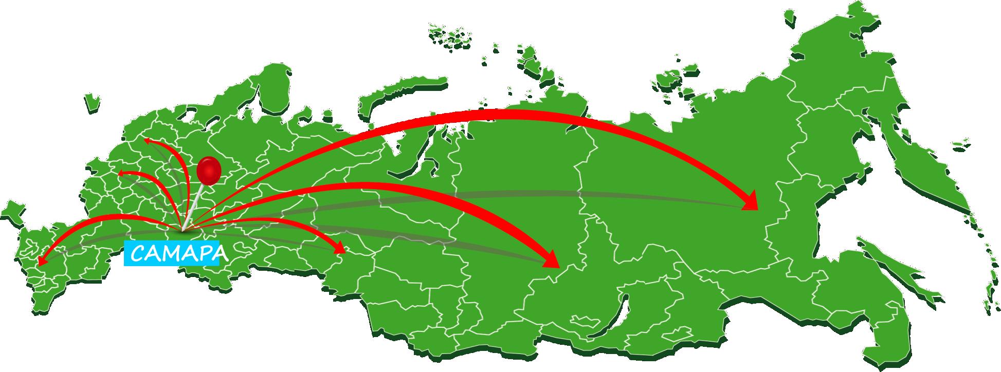 Доставка по России транспортными компаниями
