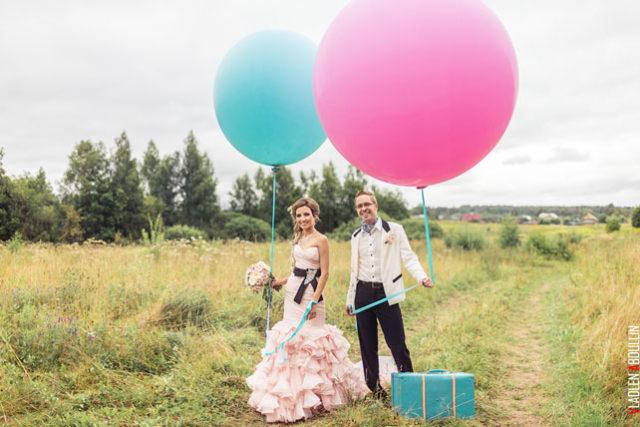 """Самые большие воздушные шары 36"""" (90 см)"""