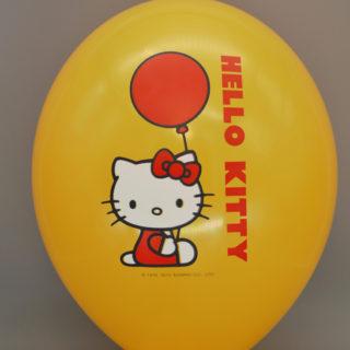 """Шары с печатью «Hello Kitty» 14"""""""