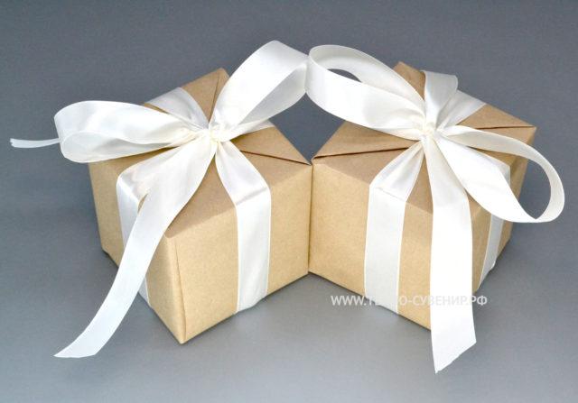 Упаковка кружек бумага + ленты