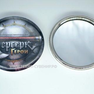 Зеркальца 75 мм в железном корпусе (образец заготовки)