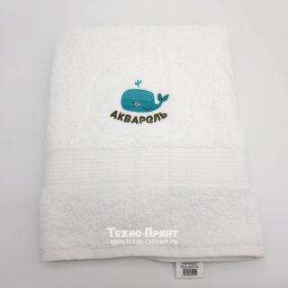 Заказ логотипа на полотенце с вышивкой