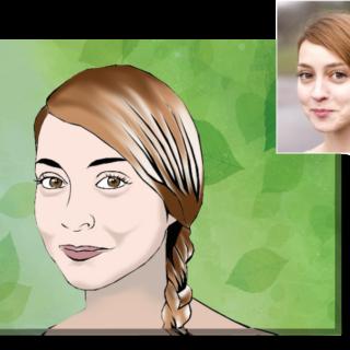 Портрет 40х50 см в стиле VEKTOR-ART, на холсте 3950 руб!