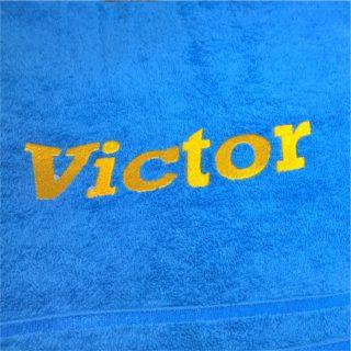 именная вышивка на полотенце