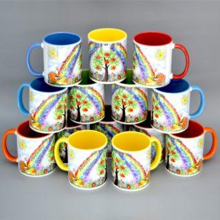 Сувениры на посуде