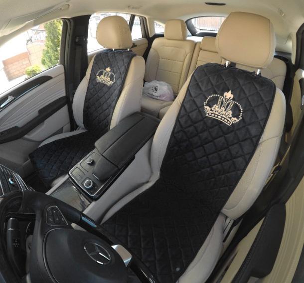 Авточехлы накидки в с вышивкой корона