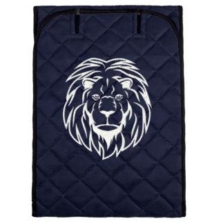 Авточехол с вышивкой лев