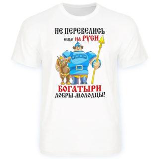 """Футболка """"Не перевелись еще Богатыри"""""""