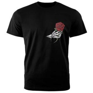 """Футболка""""Роза и рука"""""""