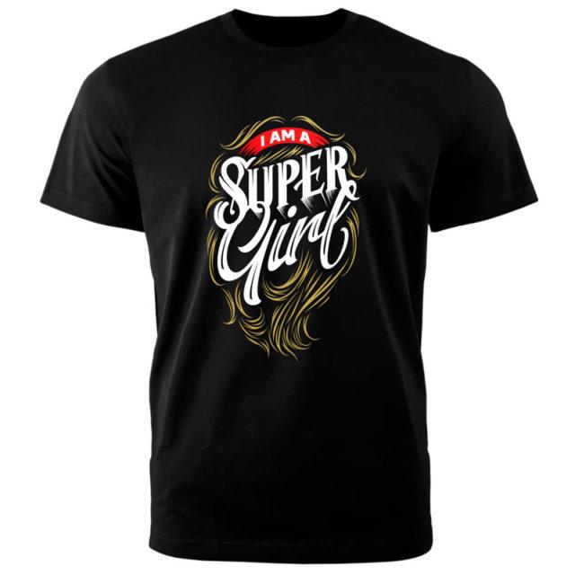 "Футболки ""Super Gerl"""