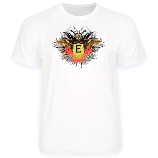 футболка винтажная с инициалами