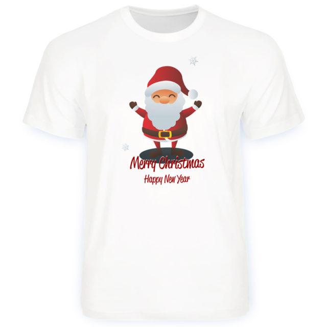 дизайн-футболка-нг-Merry-Christmas Санта