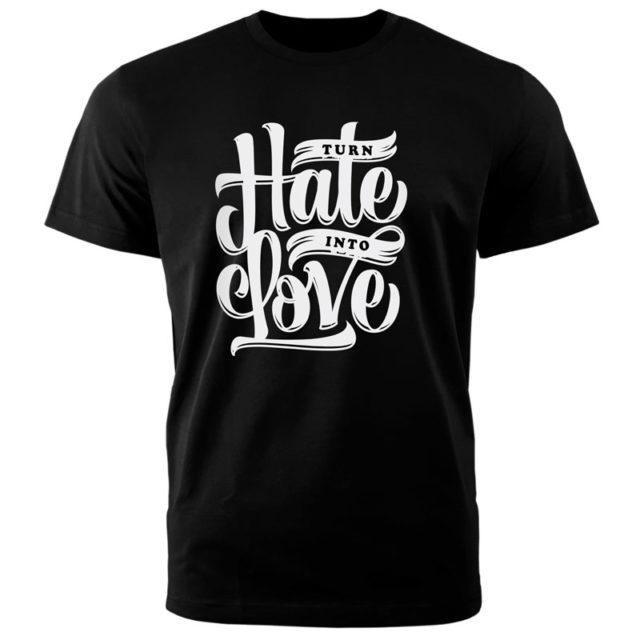 "Футболка черная ""Hale Love"""