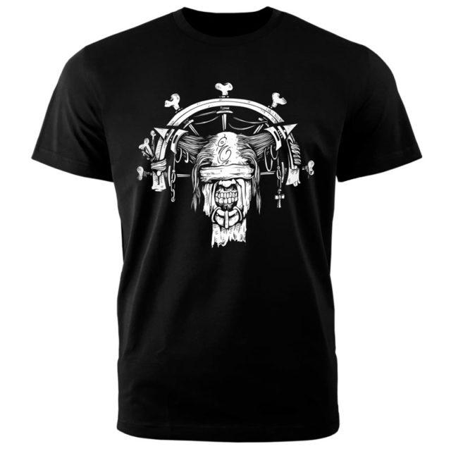 футболка hard черная