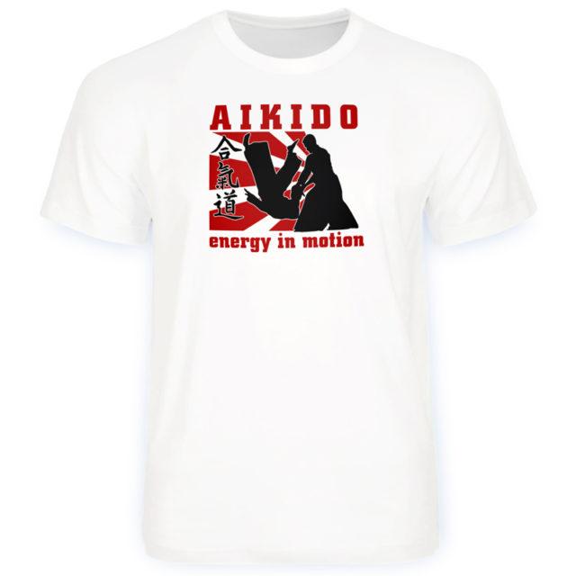 футболка спортивная айкидо