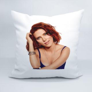 подушка с нанесением вашей фотографией