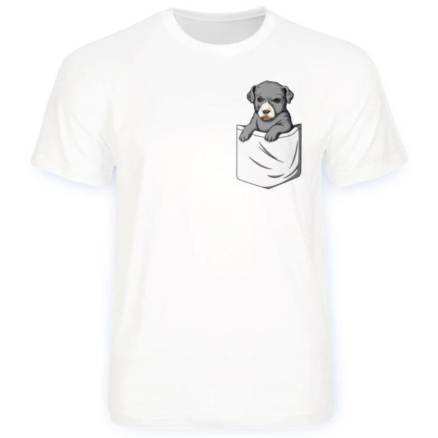 футболка грозная собака в кармане