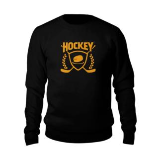 свитшот с вышивкой хоккей