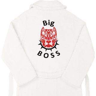 """Халат с вышивкой """"Big Boss"""""""