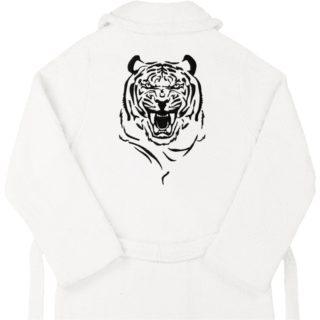 """Халат с вышивкой """"Тигр"""""""