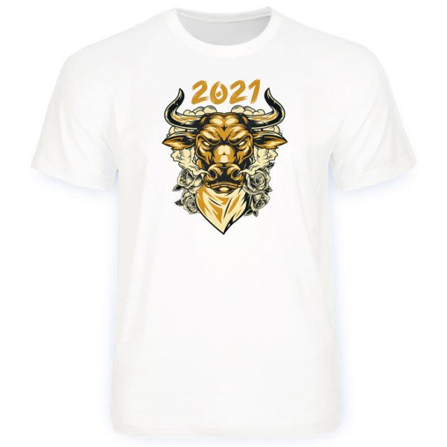 бык на футболку
