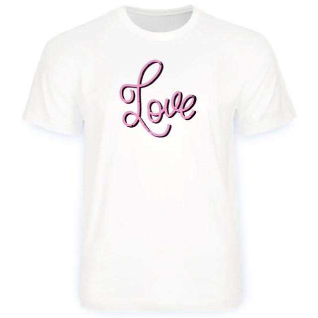 подарочная футболка на день святого Валентина