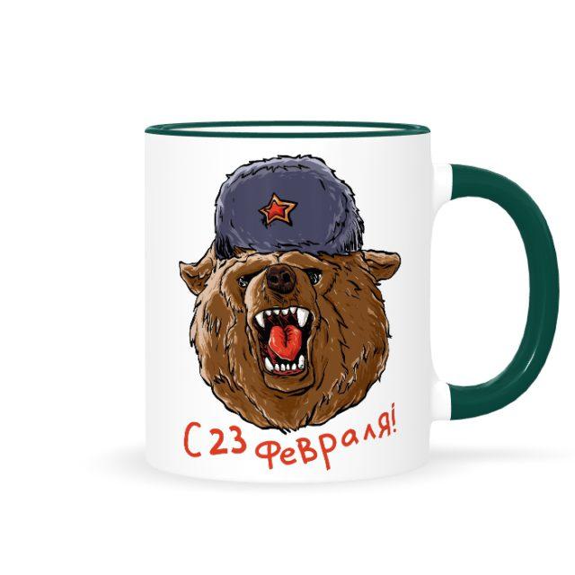 медведь 23 февраля